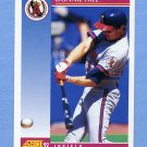 1992 Score Baseball #183 Donnie Hill - California Angels