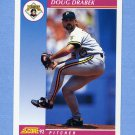 1992 Score Baseball #115 Doug Drabek - Pittsburgh Pirates