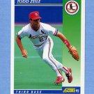 1992 Score Baseball #052 Todd Zeile - St. Louis Cardinals