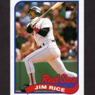 1989 Topps Baseball #245 Jim Rice - Boston Red Sox