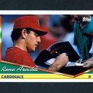 1994 Topps Baseball #348 Rene Arocha - St. Louis Cardinals