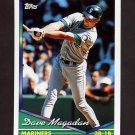 1994 Topps Baseball #347 Dave Magadan - Seattle Mariners