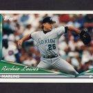 1994 Topps Baseball #047 Richie Lewis - Florida Marlins