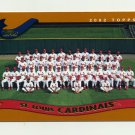 2002 Topps Baseball #667 St. Louis Cardinals TC
