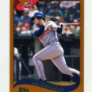 2002 Topps Baseball #152 Wil Cordero - Cleveland Indians