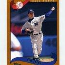 2002 Topps Baseball #132 Ted Lilly - New York Yankees