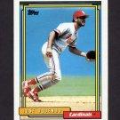 1992 Topps Baseball #723 Jose Oquendo - St. Louis Cardinals