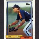1992 Topps Baseball #463 Mike Simms - Houston Astros
