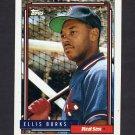 1992 Topps Baseball #416 Ellis Burks - Boston Red Sox