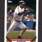 1993 Topps Baseball #635 Albert Belle - Cleveland Indians
