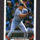 1993 Topps Baseball #566 Rod Brewer - St. Louis Cardinals
