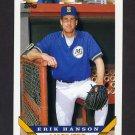 1993 Topps Baseball #342 Erik Hanson - Seattle Mariners