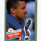 1991 Fleer All-Pros Football #17 Mark Carrier - Chicago Bears