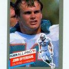 1991 Fleer All-Pros Football #14 John Offerdahl - Miami Dolphins