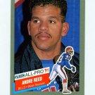 1991 Fleer Football All-Pros #01 Andre Reed UER - Buffalo Bills NM-M