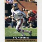 1991 Pro Set Football #345 John Elway - Denver Broncos