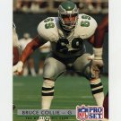 1992 Pro Set Football #282 Bruce Collie - Philadelphia Eagles