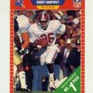1989 Pro Set Football #493 Bobby Humphrey RC - Denver Broncos