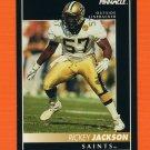 1992 Pinnacle Football #204 Rickey Jackson - New Orleans Saints