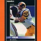 1992 Pinnacle Football #196 Larry Kelm - Los Angeles Rams