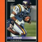 1992 Pinnacle Football #186 Steve Jordan - Minnesota Vikings