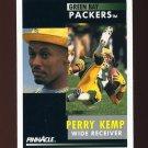 1991 Pinnacle Football #155 Perry Kemp - Green Bay Packers