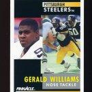 1991 Pinnacle Football #039 Gerald Williams - Pittsburgh Steelers