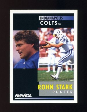 1991 Pinnacle Football #003 Rohn Stark - Indianapolis Colts