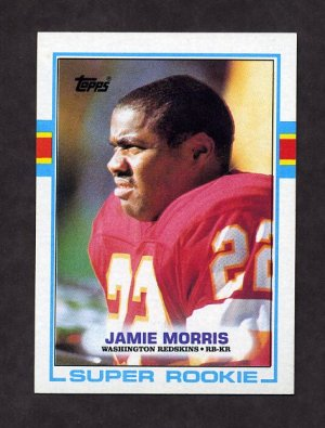 1989 Topps Football #252 Jamie Morris - Washington Redskins