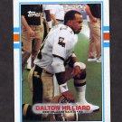 1989 Topps Football #157 Dalton Hilliard - New Orleans Saints NM-M