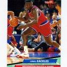 1992-93 Ultra Basketball #185 Ledell Eackles - Washington Bullets