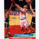 1992-93 Ultra Basketball #086 Ken Norman - Los Angeles Clippers
