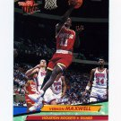1992-93 Ultra Basketball #071 Vernon Maxwell - Houston Rockets
