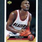 1992-93 Upper Deck McDonald's Basketball #P34 Terry Porter - Portland Trail Blazers
