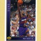 1993-94 Upper Deck Basketball #080 Mark West - Phoenix Suns