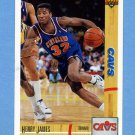 1991-92 Upper Deck Basketball #369 Henry James - Cleveland Cavaliers ExMt