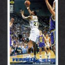 1995-96 Collector's Choice Basketball #131 Duane Ferrell - Indiana Pacers