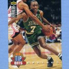 1994-95 Collector's Choice Basketball #167 Dee Brown TO - Boston Celtics