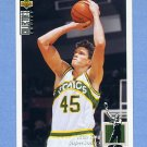 1994-95 Collector's Choice Basketball #161 Rich King - Seattle Supersonics