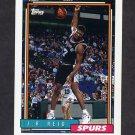 1992-93 Topps Basketball #376 J.R. Reid - San Antonio Spurs