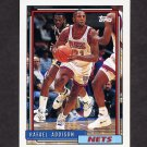 1992-93 Topps Basketball #345 Rafael Addison - New Jersey Nets