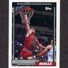 1992-93 Topps Basketball #342 Will Perdue - Chicago Bulls
