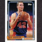 1992-93 Topps Basketball #259 Eric Anderson RC - New York Knicks