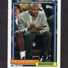 1992-93 Topps Basketball #256 Paul Pressey - Golden State Warriors