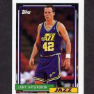 1992-93 Topps Basketball #247 Larry Krystkowiak - Utah Jazz