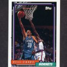 1992-93 Topps Basketball #242 Dell Curry - Charlotte Hornets