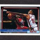 1992-93 Topps Basketball #238 Jayson Williams - New Jersey Nets