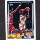 1992-93 Topps Basketball #237 Dale Davis - Indiana Pacers