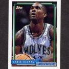 1992-93 Topps Basketball #233 Lance Blanks - Minnesota Timberwolves
