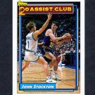 1992-93 Topps Basketball #223 John Stockton 20A - Utah Jazz